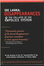 Sri Lanka: Disappearances and the Collapse of the Police System